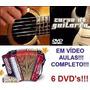 Curso De Acordeon Guitarra Violão! Aulas Em 6 Dvds Fdg