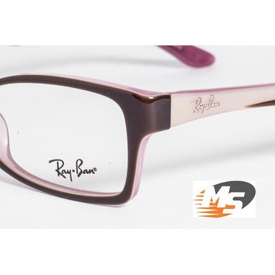 Óculos Ray-Ban em Acetato estilo Gatinho - Modelo Rb5234 - Vinho escuro -  Para d48a0cc35b