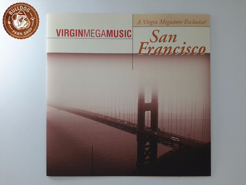 Cd San Francisco Virginmegamusic  Ganha Capa Nova B4 Original