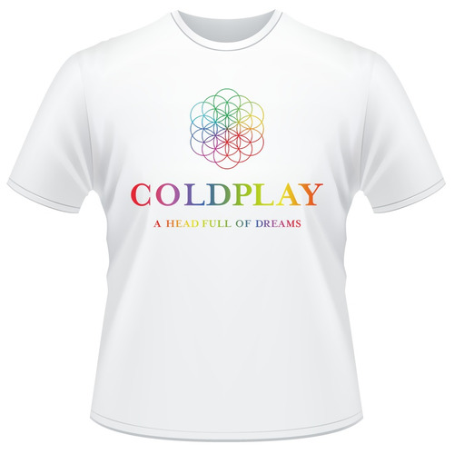 Camisa Coldplay A Head Full Of Dreams Tour