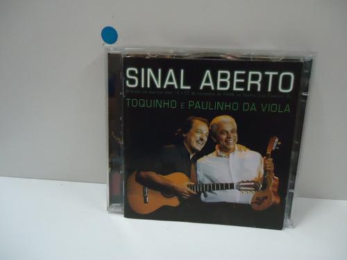 Cd Toquinho E Paulinho Da Viola - Sinal Aberto - Duplo Original