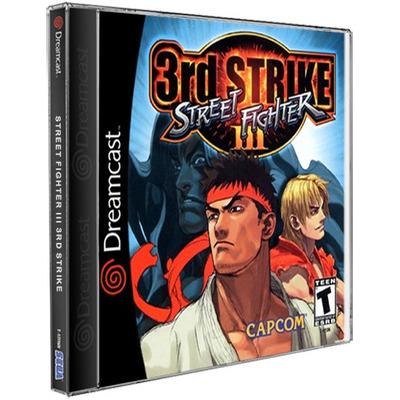 Street Fighter 3 Jogos Sega DreamCast CD Rom