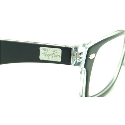 cbeddcb0f Óculos Ray-ban Rb5206 - 2034 Preto - P/ Grau - Retrô - Óculos de ...