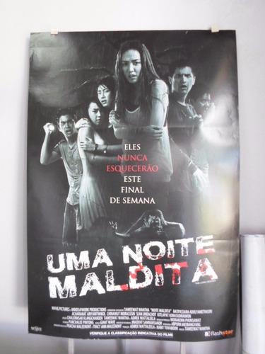 Poster Uma Noite Maldita -  64 X 94 Original