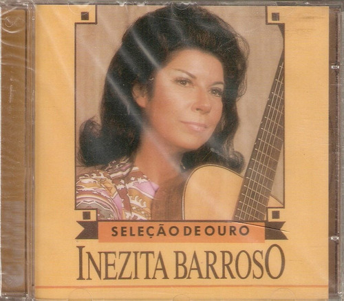 Cd Inezita Barroso - Seleção De Ouro - Novo*** Original