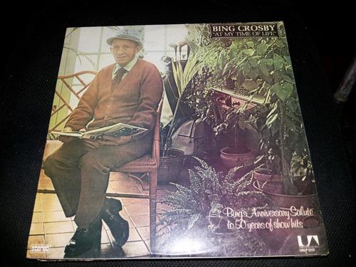 Lp Vinil Bing Crosby - At My Time Of Life - 1976 Original