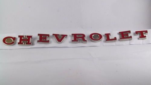 Emblema Chevrolet Letras Opala Comodoro 75 - 79