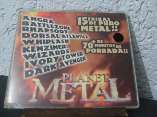 Cd Vários - Planet Metal Volume Original