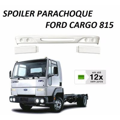 Spoiler Parachoque Caminhão Ford Cargo 815 712 3 Partes em Ribeirão Preto