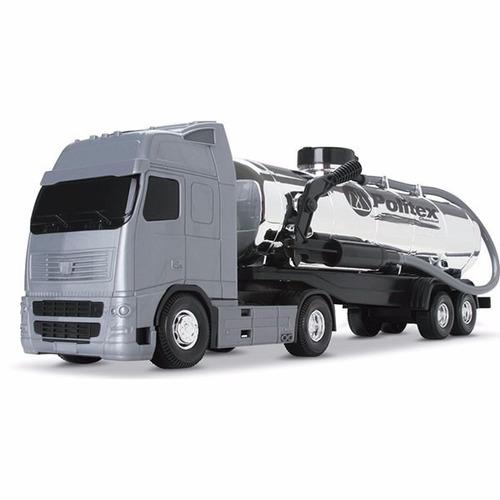 Brinquedo Infantil Caminhão De Tanque Cromado