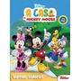 Livro Disney Vamos Colorir A Casa Do Mickey Mouse