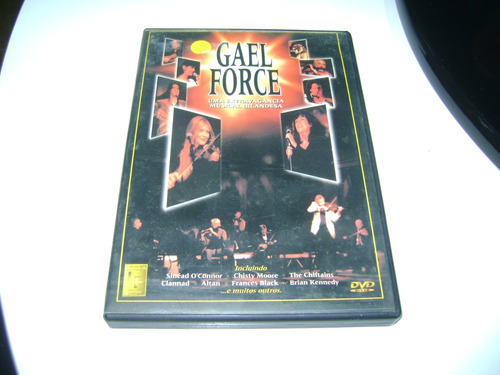 Dvd  Gael Force  Sinea O Connor  Clannad Altan Original