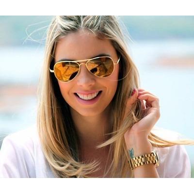oculos ray ban lentes espelhadas