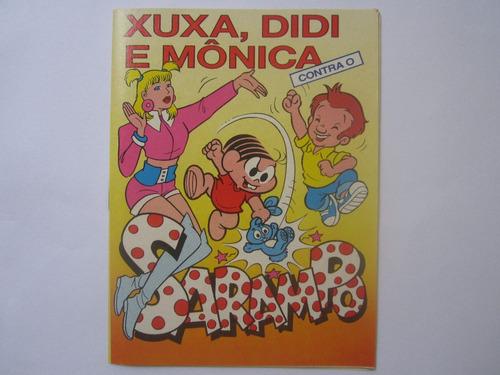 Xuxa, Didi E Mônica Contra O Sarampo 1992 Gibi Promocional 1
