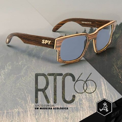 c0f948e0b2820 Óculos de Sol SPY - Edição Especial Armação antialérgica em Madeira  ecológica