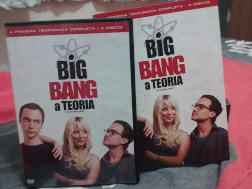 Dvd Box Big Bang A Teoria - A Primeira Temporada Completa Original