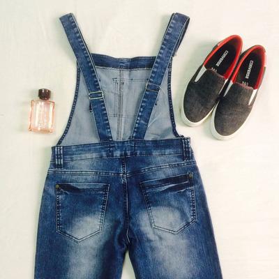 Macac o jardineira masculina jeans denin promo o 44 46 for Jardineira masculina c a