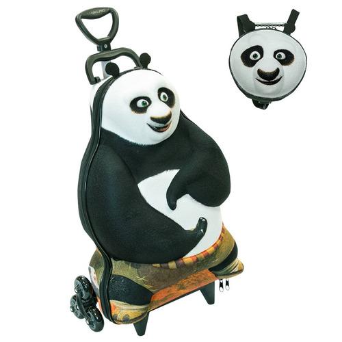 Kit Kung Fu Panda 2920k15 - Em Eva 3d - Maxtoy
