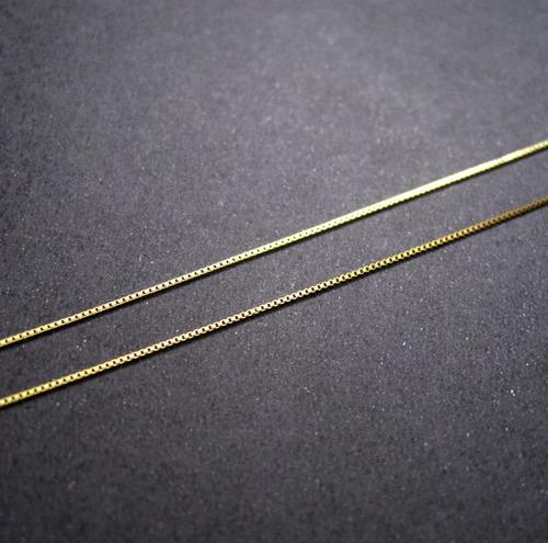 Corrente De Ouro 18k Veneziana 45cm Original