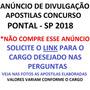 Apostilas P Concurso Pontal sp Solicite O Link Nas Perguntas