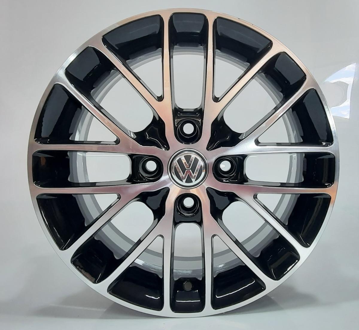 Jogo Rodas Aro15 4x100 Volkswagen Gol/ Up/ Voyage Ew 15