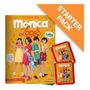 Starter Pack Turma Da Mônica Laços Livro Ilustrado 12 En