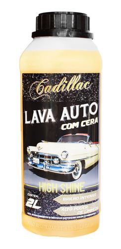 Shampoo Automotivo Com Cera High Shine Cadillac Brilho 2l Original