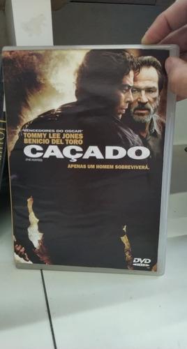 Caçado -benicio Del Toro -dvd Original