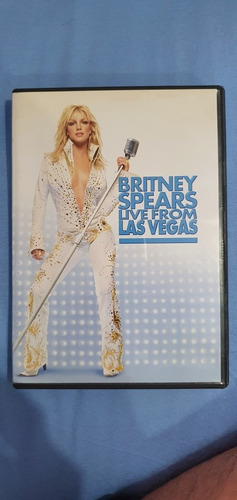 Dvd Britney Spears - Live From Las Vegas () Original