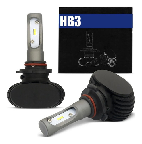 Lampada Power Led Gc Ultra Super Potente 8000 Lumens 6000 Kelvins 1 Ano De Garantia H1 H3 H4 H7 H8 H11 H16 H27 Hb3 Hb4 Original