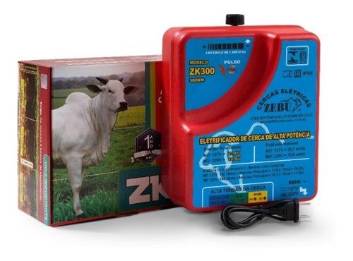 Eletrificador Cerca Elétrica Rural Super Potente Zebu Zk300 Original