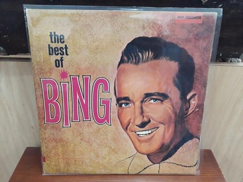 Lp Bing Crosby - The Best Of Bing Crosby (duplo! 1977) Original