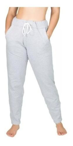 Calça Jogger Feminina Moletom Cintura Alta Skinny Slim Sport Original