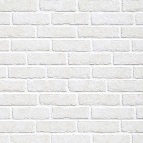 Papel De Parede Autocolante Adesivo Tijolo Branco 3d Lavável Original