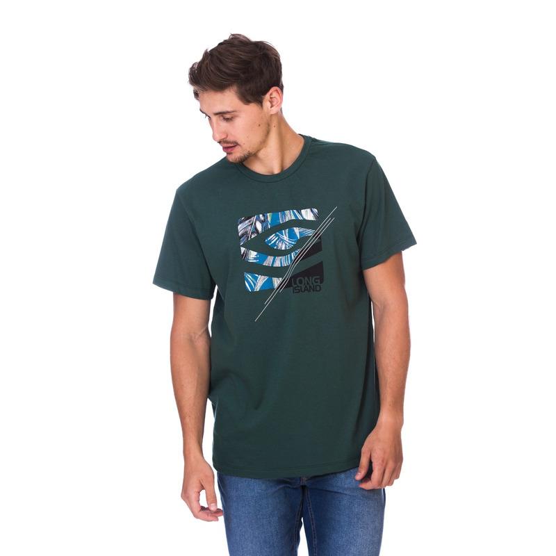 Camiseta Long Island CT Verde