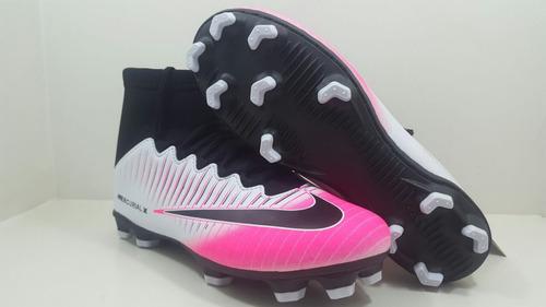 ... comprar Chuteira De Campo Botinha Cano Alto Nike Neymar Infantil ... e5dc8ea848c23