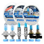 Kit Lampadas H7 H1 Hb4 Philips Crystal Vision Pingo