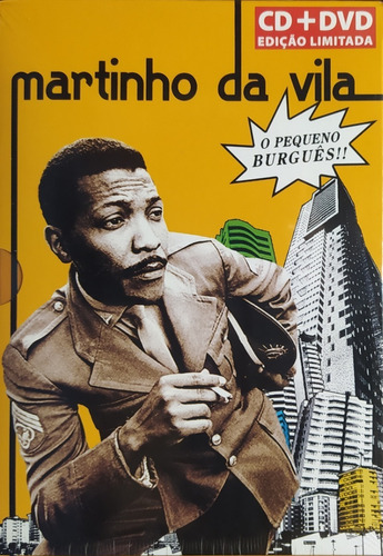Martinho Da Vila Pequeno Burguês Cd+dvd  Lacrado Original