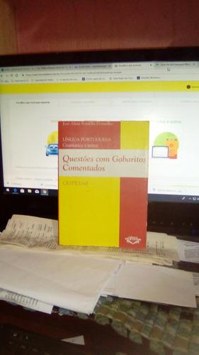 Questões Com Gabaritos Comentados Lingua  Portuguesa Cespe Original