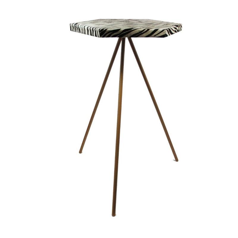 Mesa de canto Oruy - Hexagonal (Altura 60cm)