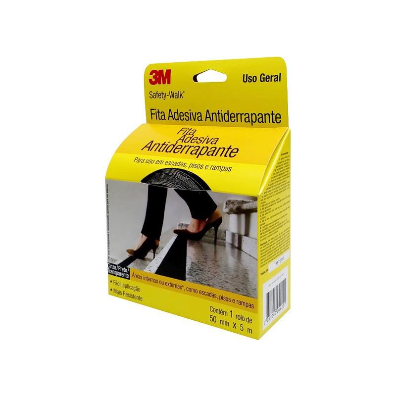 Fita Antider. Safety Walk Transparente 50mm x 5m-3M