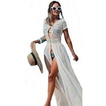 322c7d031 Comprar Promoção Vestido Longo Saida De Praia Ensaio Fotográfico Max
