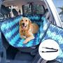 Capa Pet Impermeável Plus Banco E Portas Cães Carro Guia