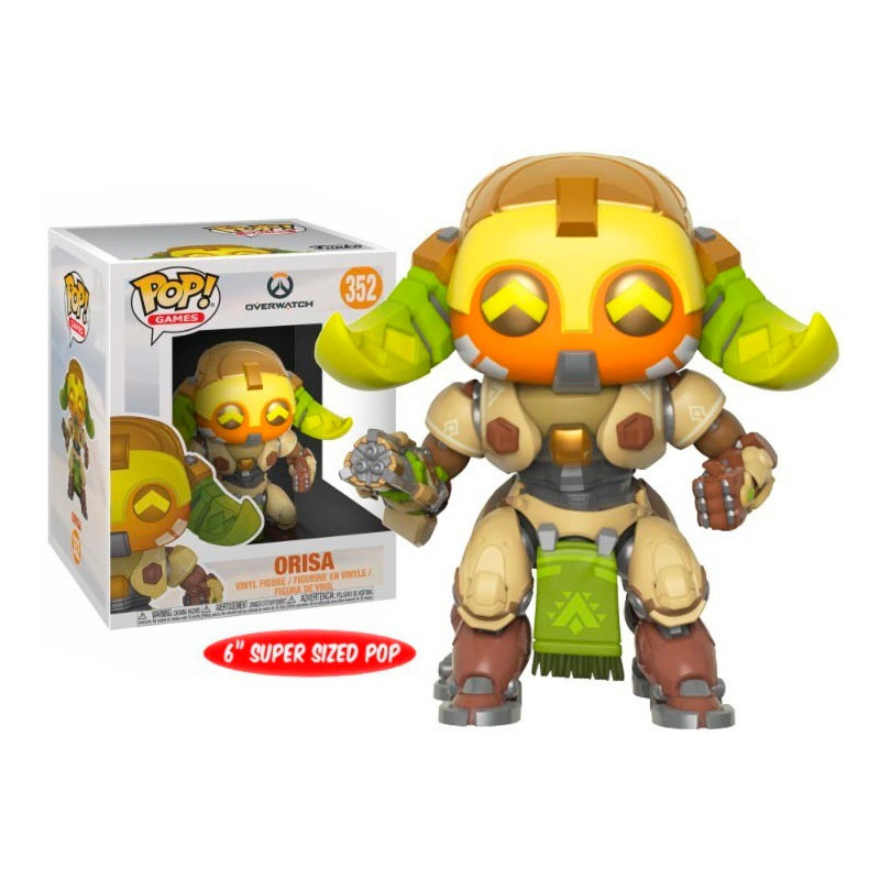 Orisa Pop Funko #352 - Super Sized 15cm - Overwatch Series 4 - Games