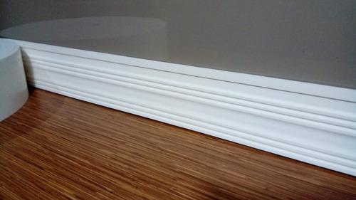 Rodapé Eva Flexivel C/ Adesivo Londrina 15 X 0,8 Cm C/5m