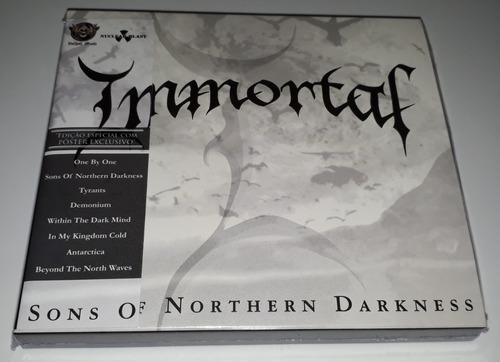 Immortal - Sons Of Northern Darkness (slipcase C/ Pôster) Original