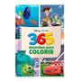 Livro De Pintura Disney Menino 365 Para Colorir