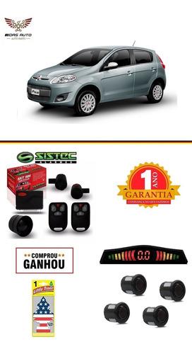 Kit Alarme + Sensor Estacionamento Novo Palio 2012/2018 Original