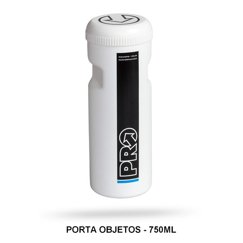 GARRAFA PORTA OBJETOS SHIMANO PRO BRANCO - 750ML