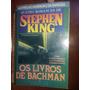 Os Livros De Bachman Stephen King (rarissimo)